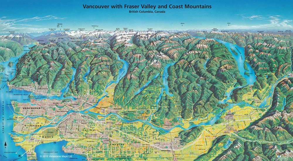 Buy Vistascene Panoramic Maps